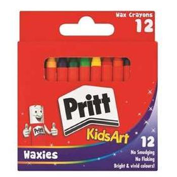 Pritt Wax Crayons 12s Penfile Office Supplies