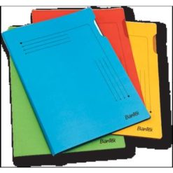 Bantex A4 Insert Smart Folder Pack 25 Assorted Colours
