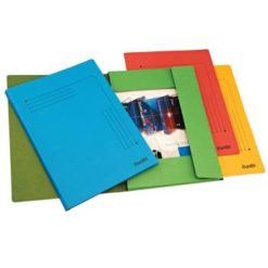 Bantex A4 3-Flap Document Smart Folder Pack 10 Assorted Colours