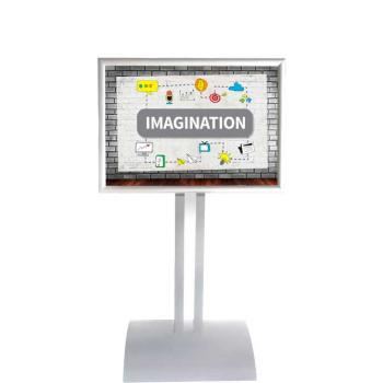 Parrot Poster Frame Stand Double Sided A1 Landscape Poster Frame ...