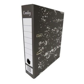 Croxley JD1007 A4 Lever Arch File Rado 80mm Board Black
